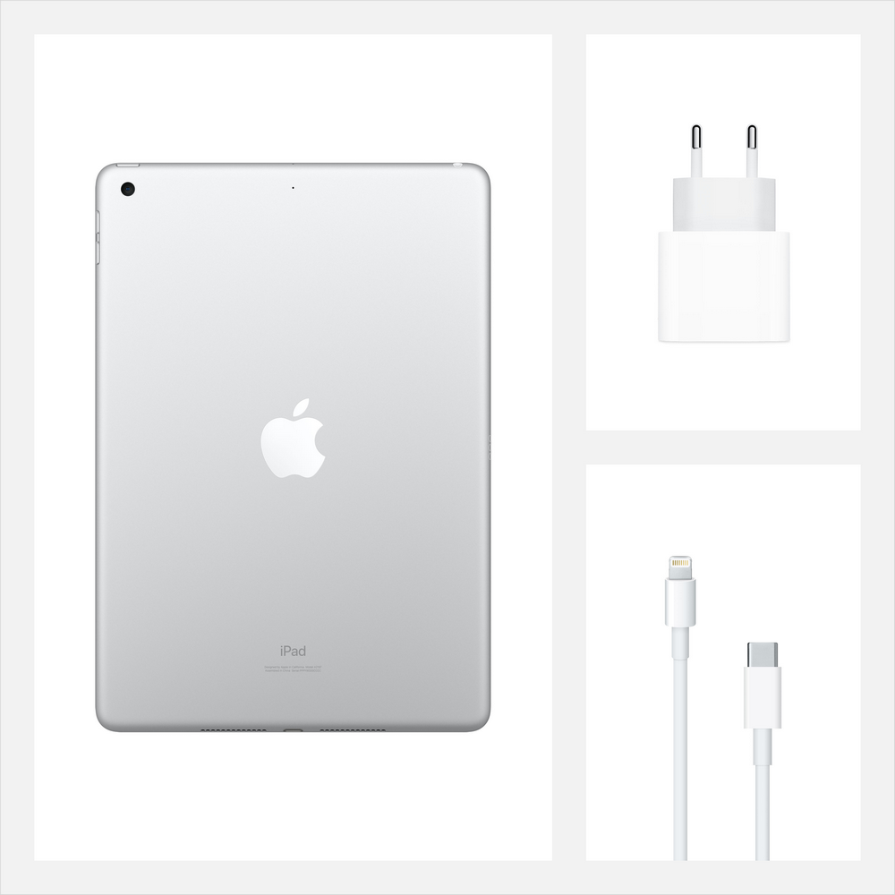 "Планшет Apple iPad 10,2"" 2020  Wi-Fi + Cellular 32 Gb Silver"