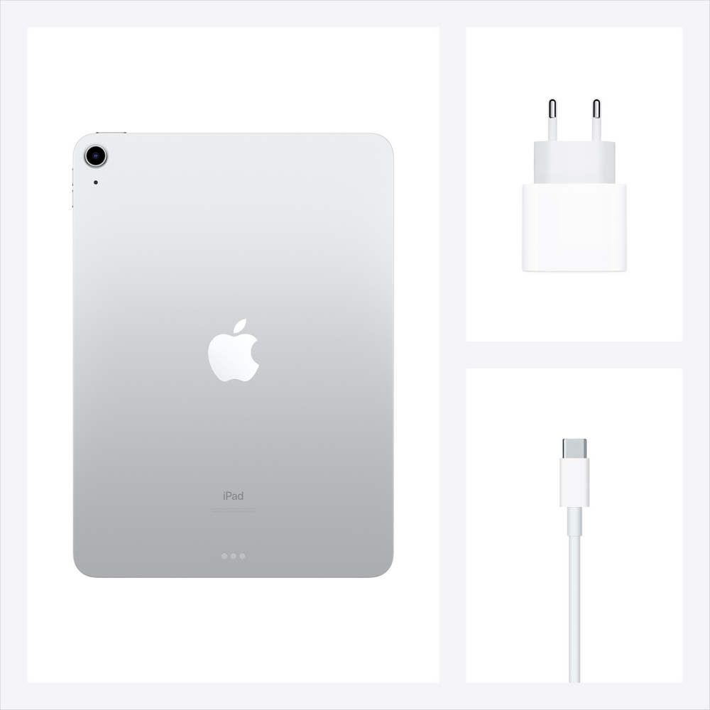 Apple iPad Air 2020 Wi-Fi 256 Gb, серебристый